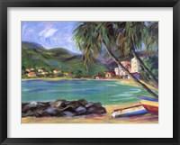 Caribbean Seascape II Framed Print