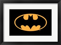 Framed Batman Logo