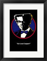 "Dick Tracy ""Eat Leader Copper!"" Framed Print"