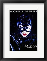 Framed Batman Returns Catwoman