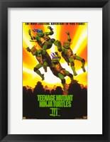 Framed Teenage Mutant Ninja Turtles 3