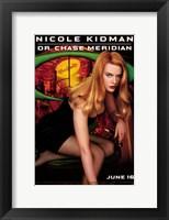 Framed Batman Forever Nicole Kidman as Dr. Chase Meridan