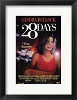 Framed 28 Days poster