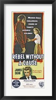 Framed Rebel Without a Cause Vertical Teenage Violence