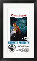Framed Rebel Without a Cause Natalie Wood Italian