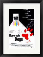 Framed Reservoir Dogs Signature