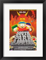 Framed South Park: Bigger, Longer and Uncut - Brazilian - style B