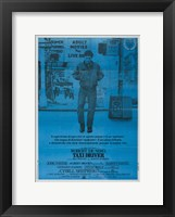 Framed Taxi Driver Dark Blue