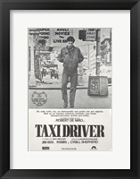 Framed Taxi Driver Gray