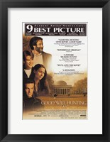 Framed Good Will Hunting Matt Damon