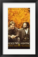 Framed Good Will Hunting Affleck Williams
