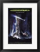 Framed Godzilla