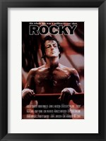 Framed Rocky His Whole Life was a Million to One Shot