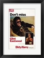 Framed Dirty Harry Don't Miss