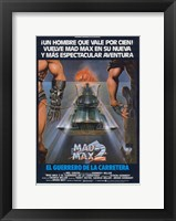 Framed Mad Max 2: The Road Warrior