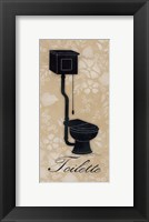Framed Toilette