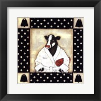 Her Milk Bath Framed Print