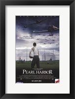 Framed Pearl Harbor Baseball Field