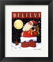 Christmas Eve Visit Framed Print
