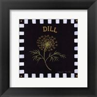 Framed Dill