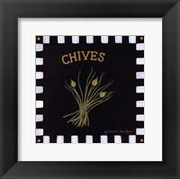 Chives Framed Print