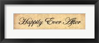 Framed Happily Ever After
