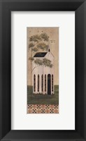 The White Church Framed Print