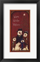 Framed Warm Winter Wishes