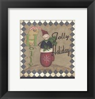 Framed Holly Jolly Holiday