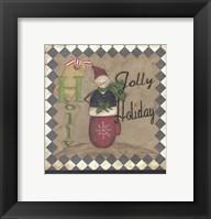 Holly Jolly Holiday Framed Print