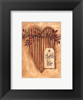 Cherish Love Framed Print