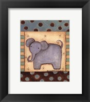 Framed Baby Elephant