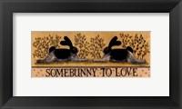 Framed Small-Somebunny to Love