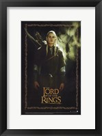 Framed Lord of the Rings: Fellowship of the Ring Legolas Greenleaf