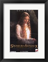 Framed Lord of the Rings: Fellowship of the Ring Galadriel