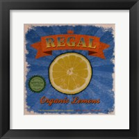 Framed Regal Lemons