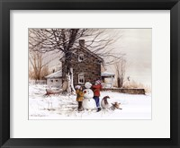 Framed Joy of Snow