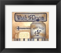 Framed Wash Room