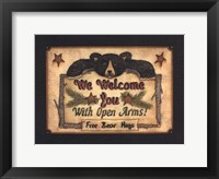 Open Arms Framed Print