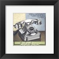 Framed Telephono