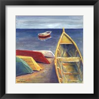 Vibrant Sea II Framed Print