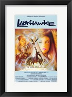 Framed Ladyhawke Michelle Pfeiffer