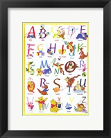 Framed Winnie The Pooh - Gallery Collection