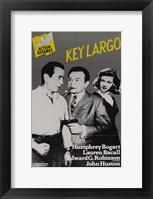 Framed Key Largo Black and Yellow