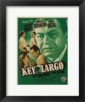 Framed Key Largo Green