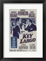 Framed Key Largo Blue