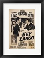 Framed Key Largo Sepia