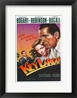 Framed Key Largo Art Deco