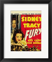Framed Fury Sidney And Tracy