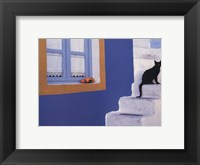 Step by Step Framed Print